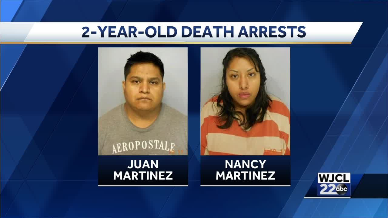Georgia couple charged with murder in babysitting death