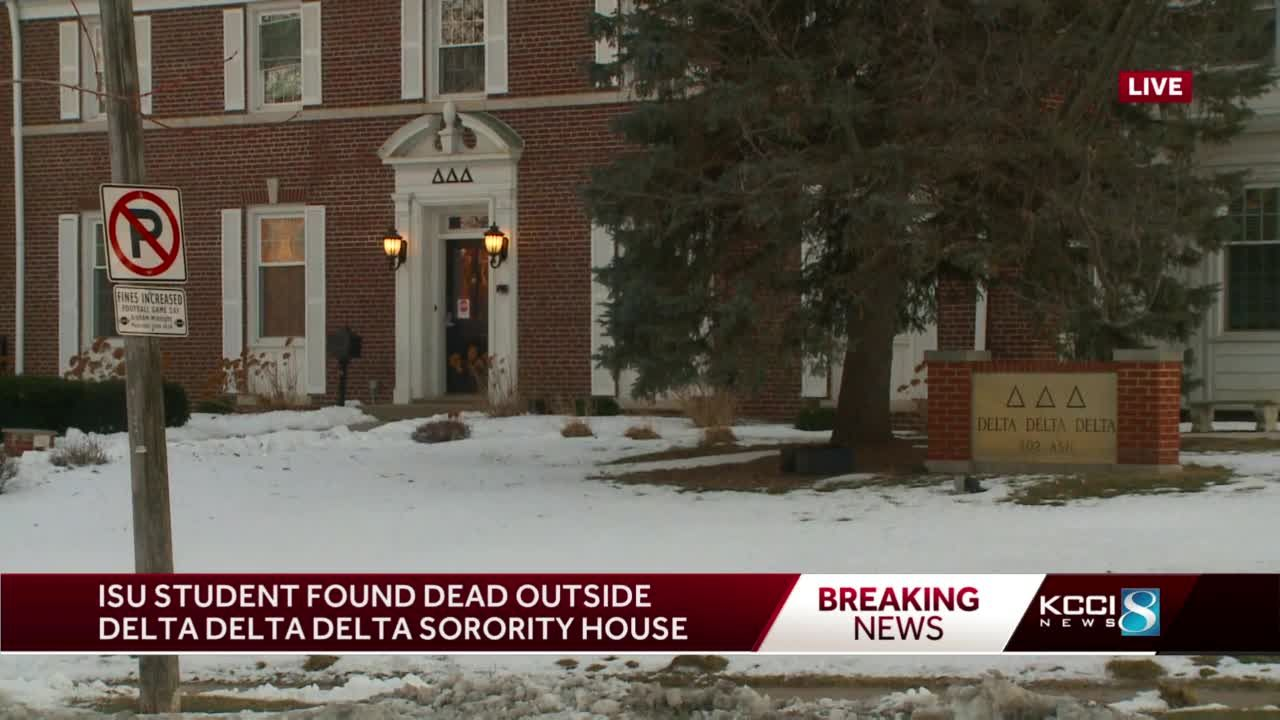 Iowa State student found dead in sorority parking lot, police say