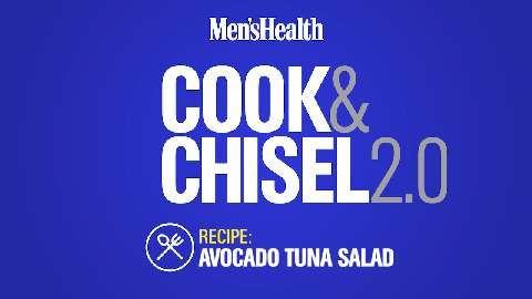 Lunch/Dinner: Avocado Tuna Salad