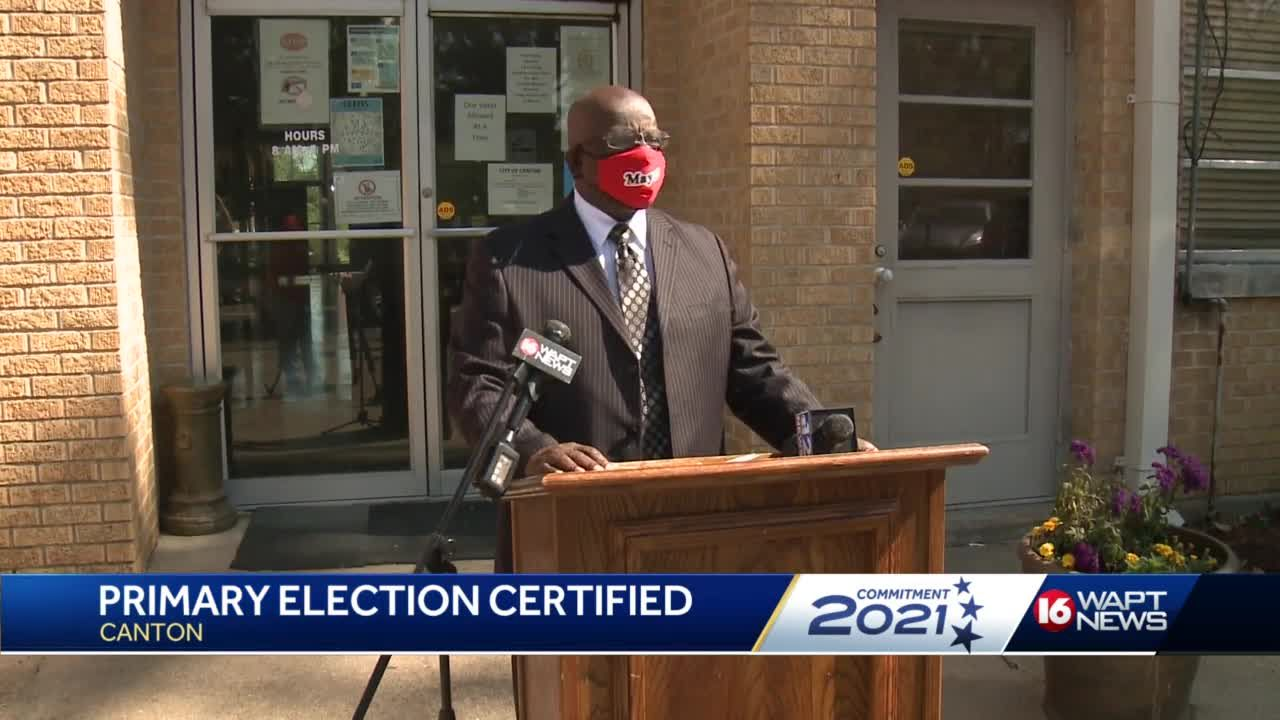 Canton mayor speaks out about election