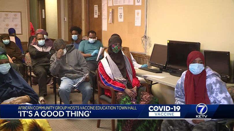 It's a good thing': Somali community group hosts vaccine education town hall