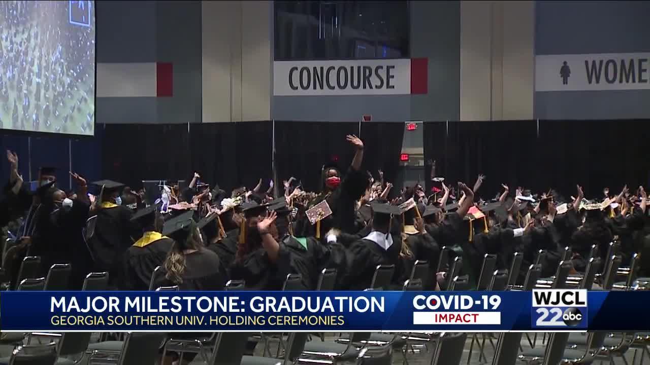 Georgia Southern University holds graduation ceremonies