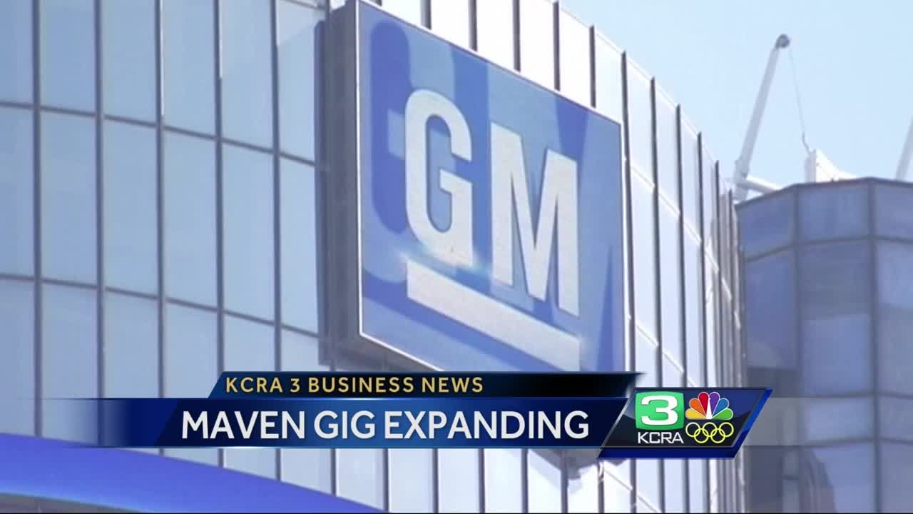 Business News: GM's Maven Gig to expand