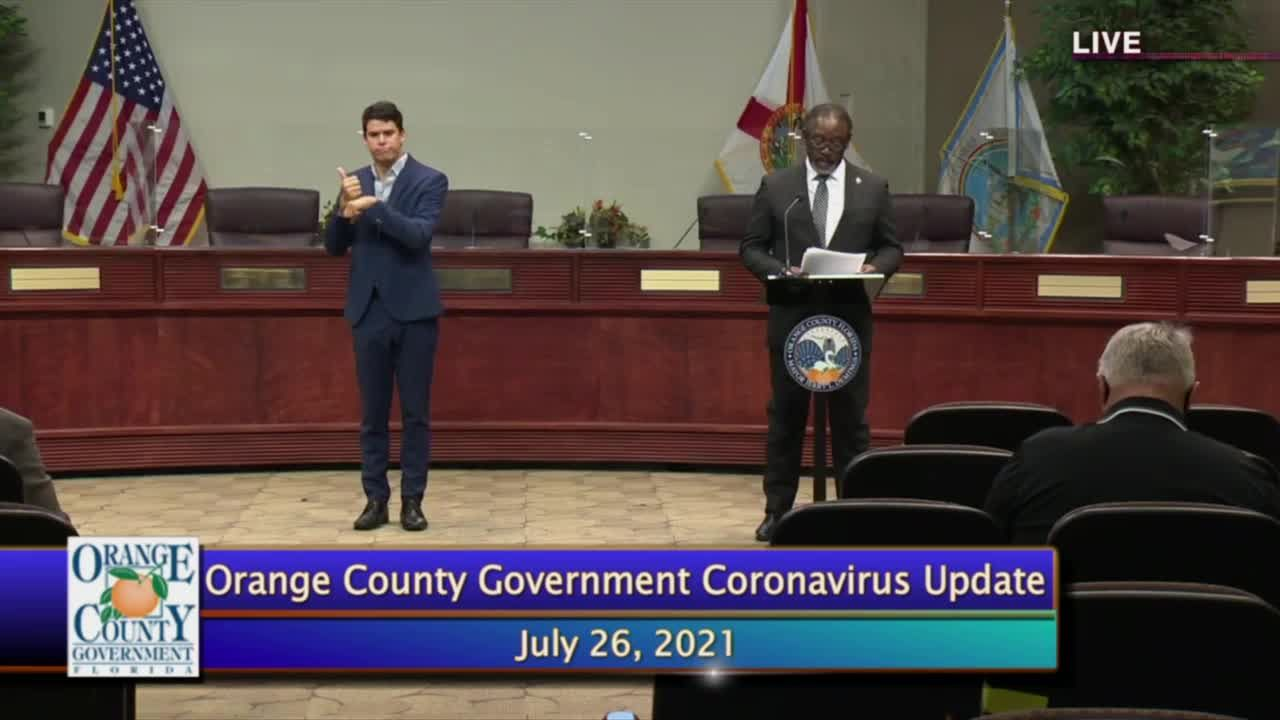 Orange County mayor says there are nearly 1,000 new COVID-19 cases daily