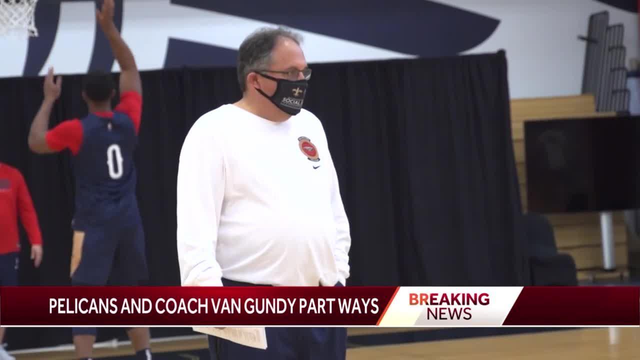 NBA SHOCKER: After only 8 months on job, Pelicans part ways with head coach Stan Van Gundy