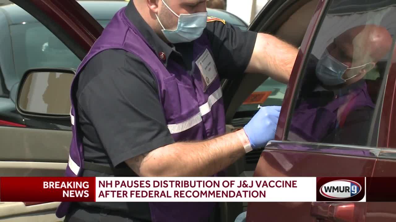 NH pauses distribution of Johnson & Johnson vaccine