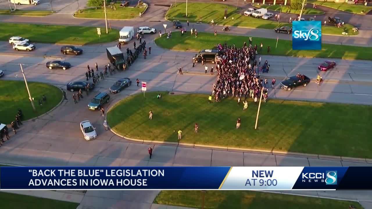 Iowa House passes pro-policing bill 63-30