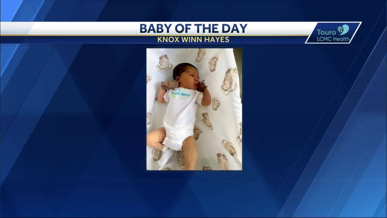 WDSU Baby of the Day for August 2, 2021