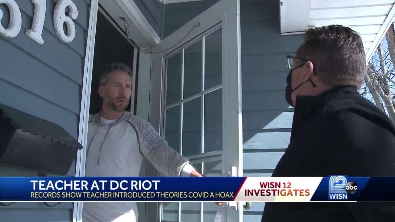 Parents reportedly file complaints against Burlington teacher who attended Capitol riot