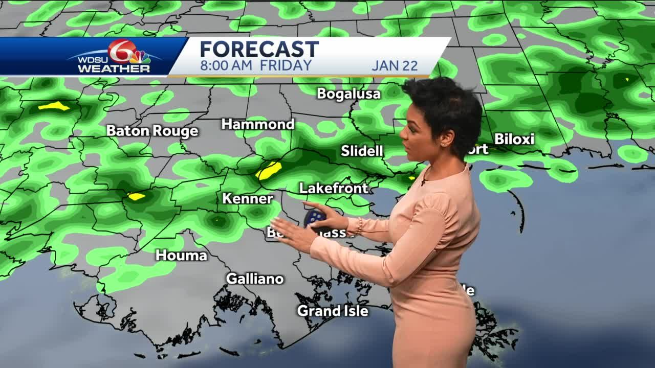 Mild week, rain chances increase Friday