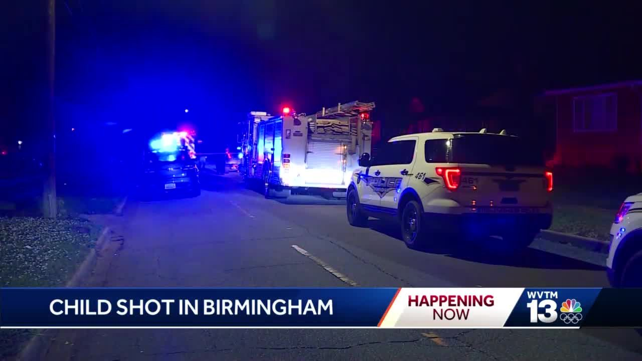 Child shot in Birmingham