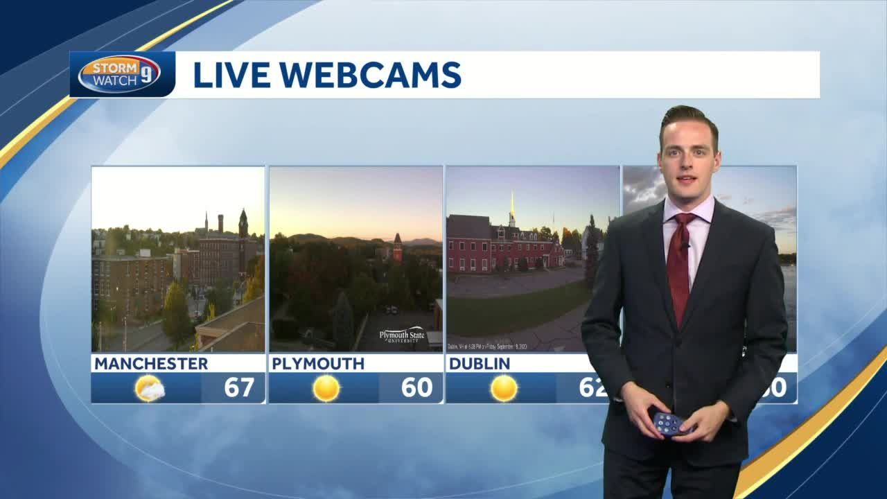 Watch: Sunny, cool, dry weekend