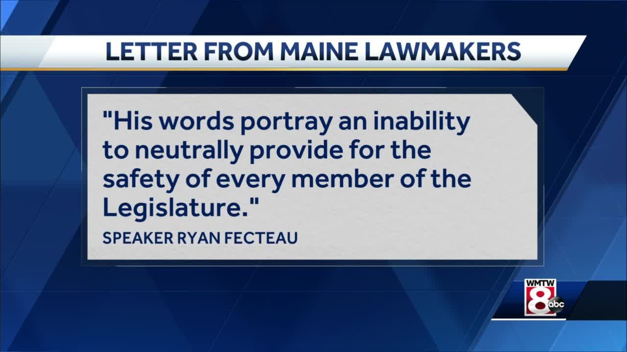 Maine lawmakers want Capitol Police chief placed on leave immediately over social media posts