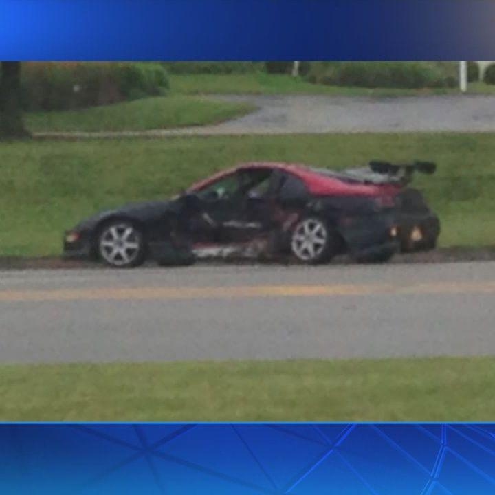 Crash slows traffic on Ohio 4 near I-275