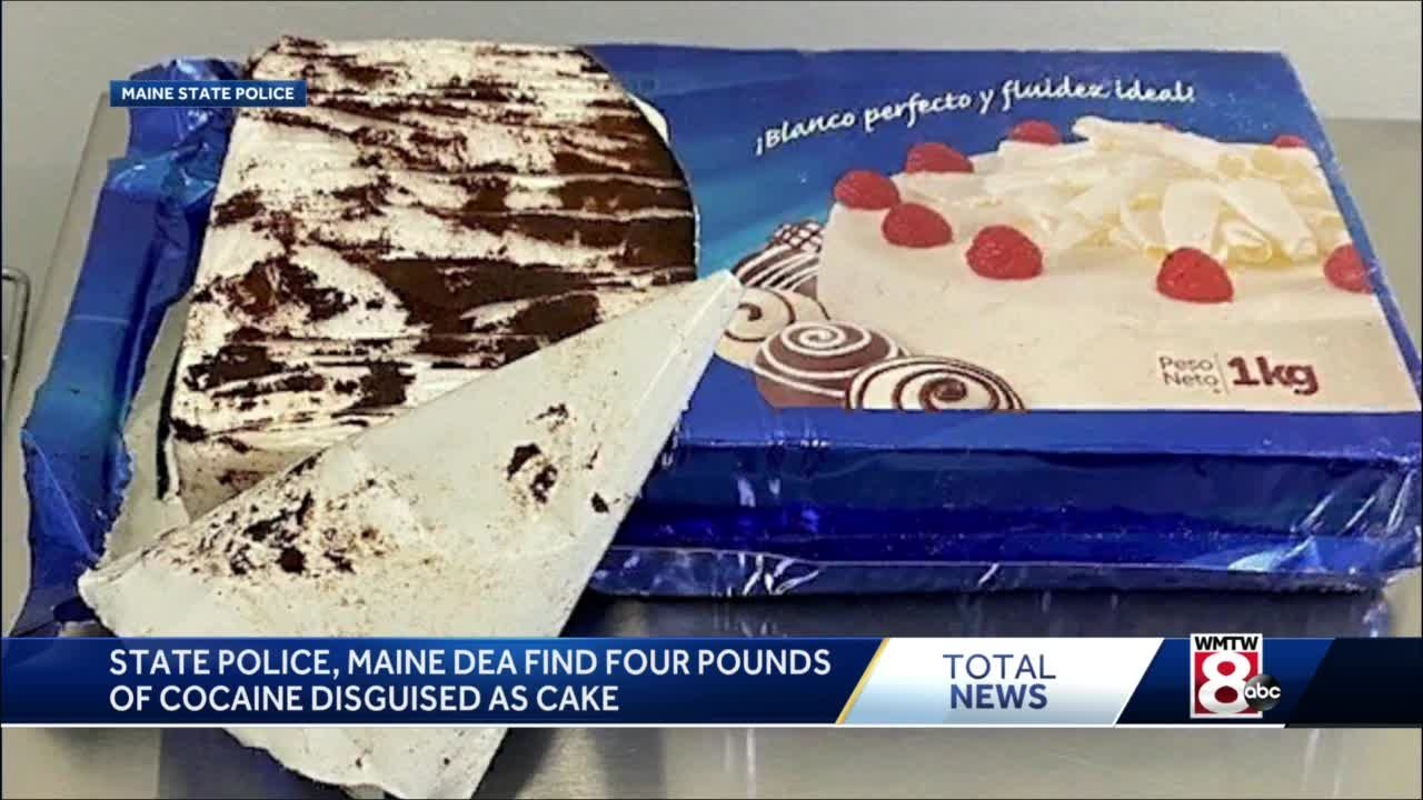 Maine drug agents seize cocaine disguised as cake