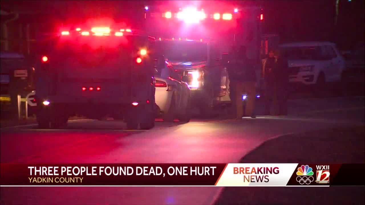 Yadkin County emergency crews at multiple crime scenes on same street