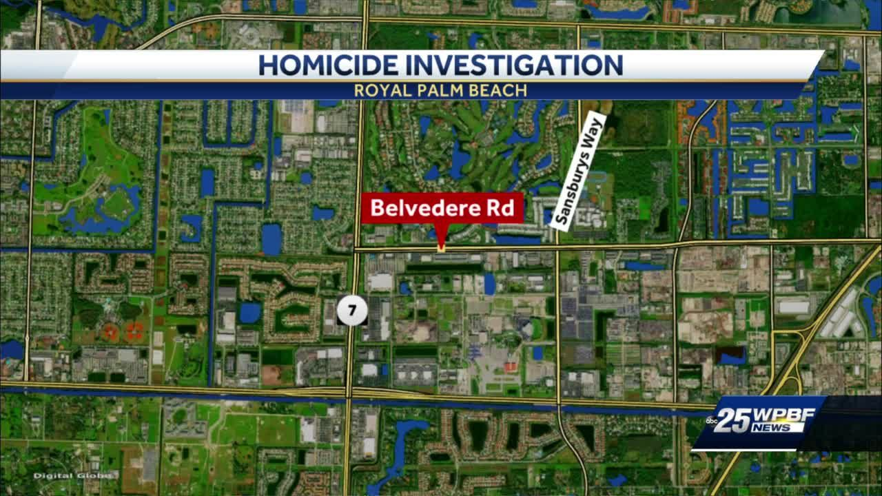 Homicide investigation in Royal Palm Beach