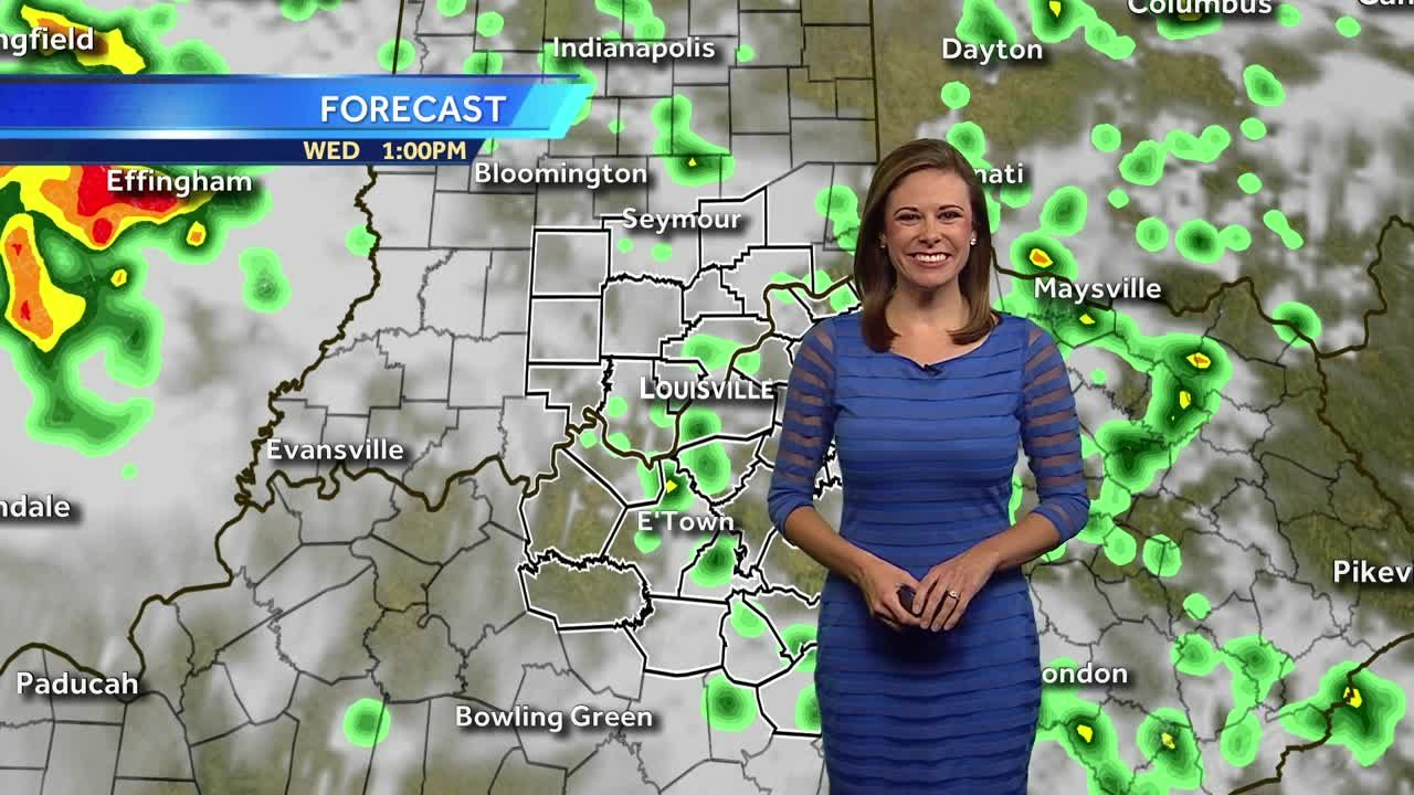 Hot, Humid With a Chance For a Few Storms