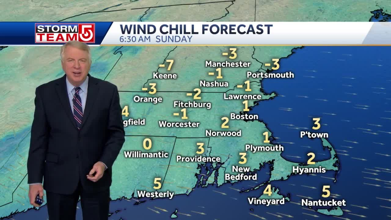 Video: Bitter temperatures, wind chill to last through Sunday morning