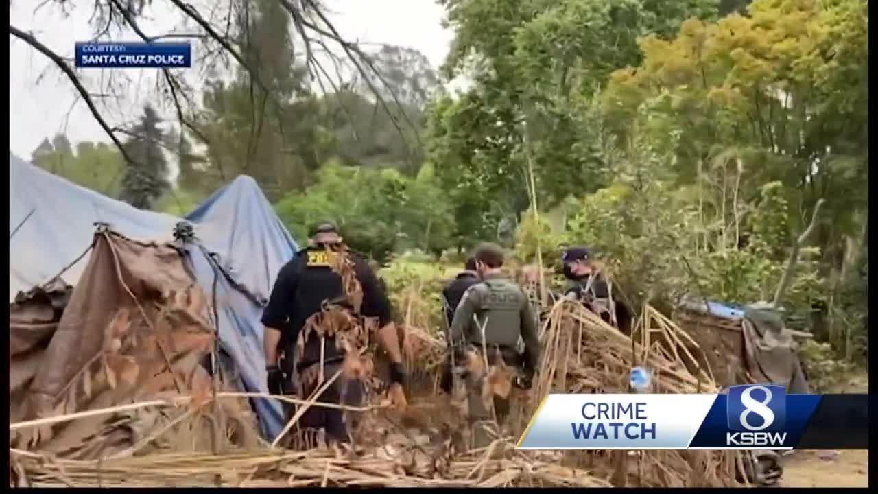 Santa Cruz police arrest more than two dozen during operation at homeless encampment