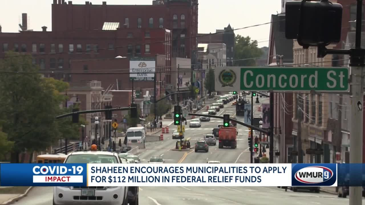 $112 million in federal relief funds available for municipalities in NH