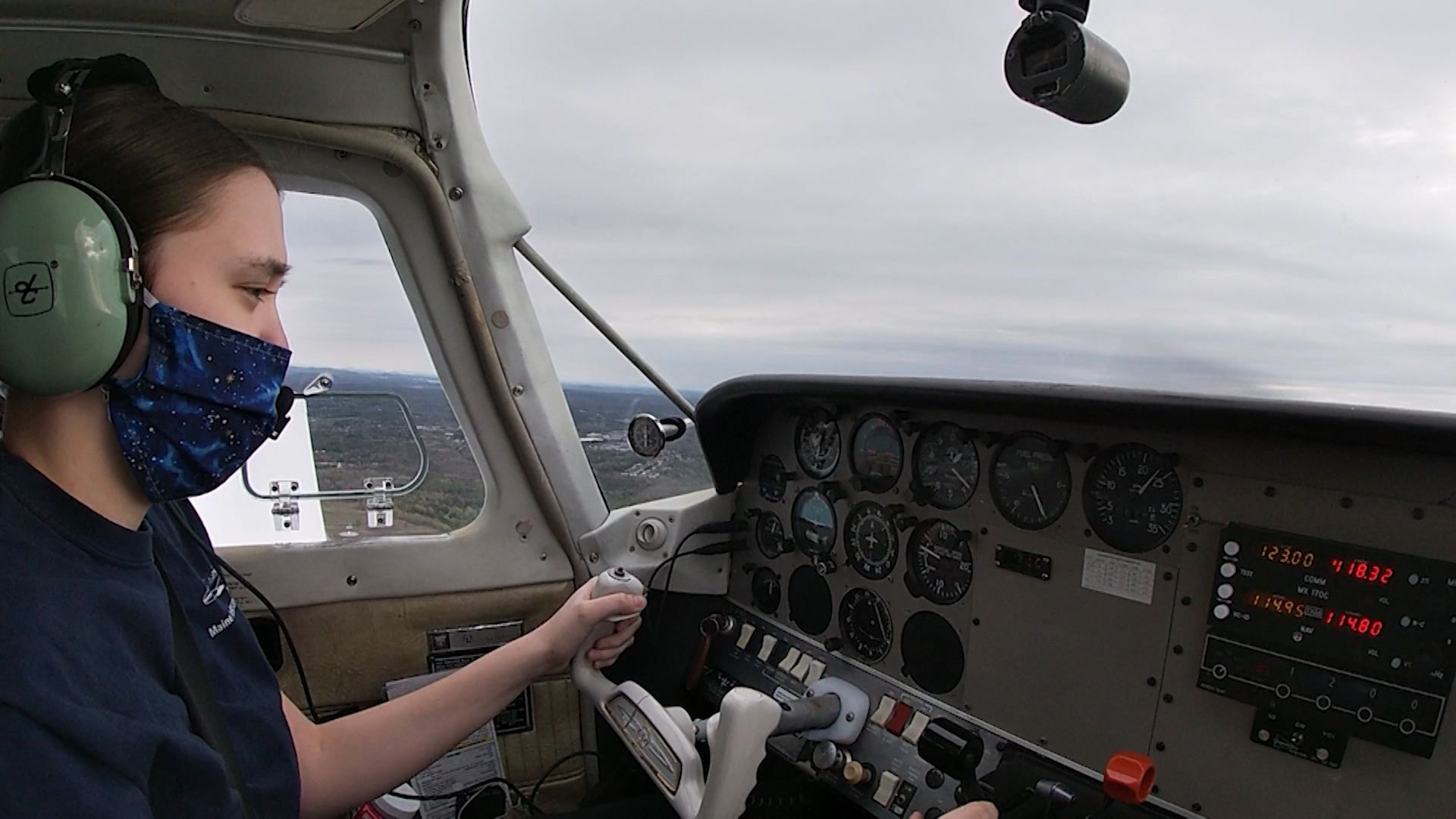 Type 1 diabetes nearly grounds Maine teen's dream of becoming a pilot