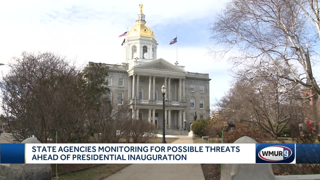State agencies monitor for possible threats ahead of presidential inauguration