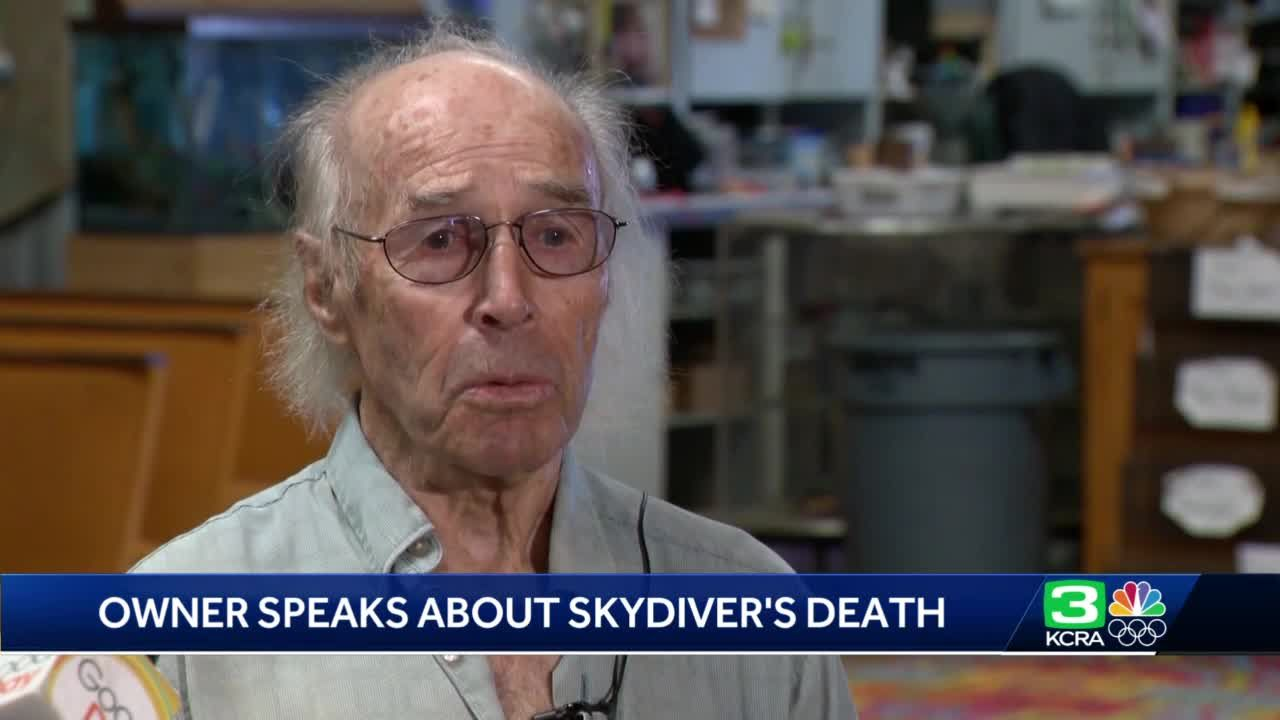'You have to go on': Lodi Parachute Center's owner responds to skydiver's death
