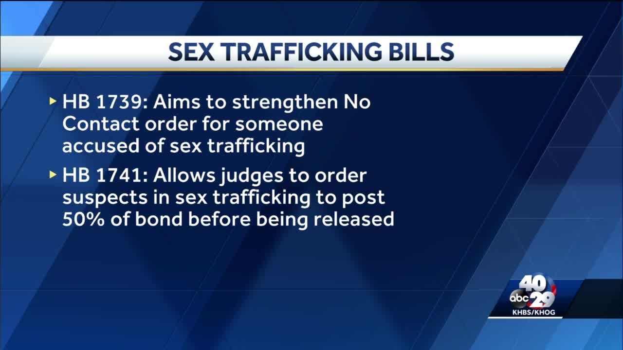 Arkansas considers new human trafficking bills