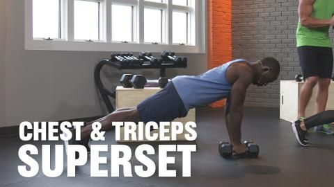 The Chest and Triceps Routine That's So Fast and Effective You'll Want To Do It Every Workout