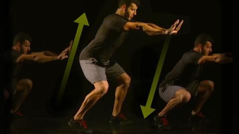 Make Your Body-Weight Squat Instantly Harder