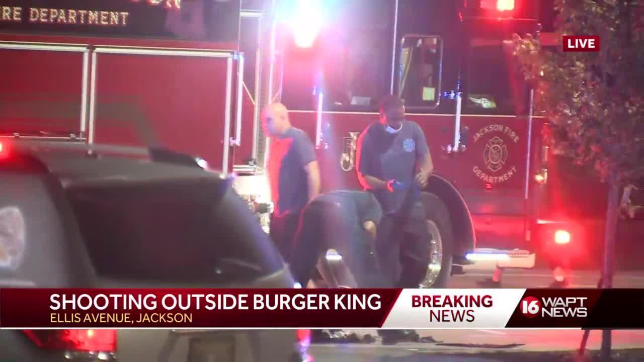 Shooting outside Burger King