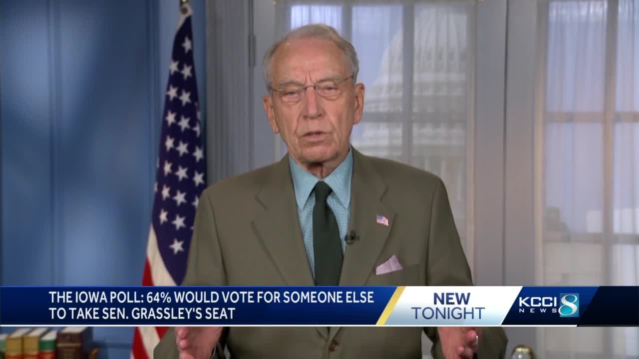 Iowa poll shows majority want someone new to replace Chuck Grassley