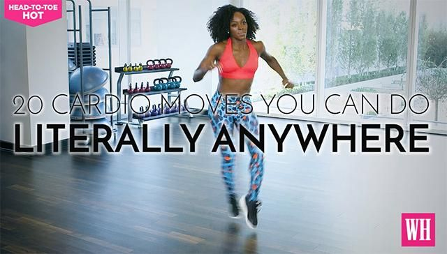 Skip The Treadmill And Try These 20 Fat-Blasting Cardio Moves Instead