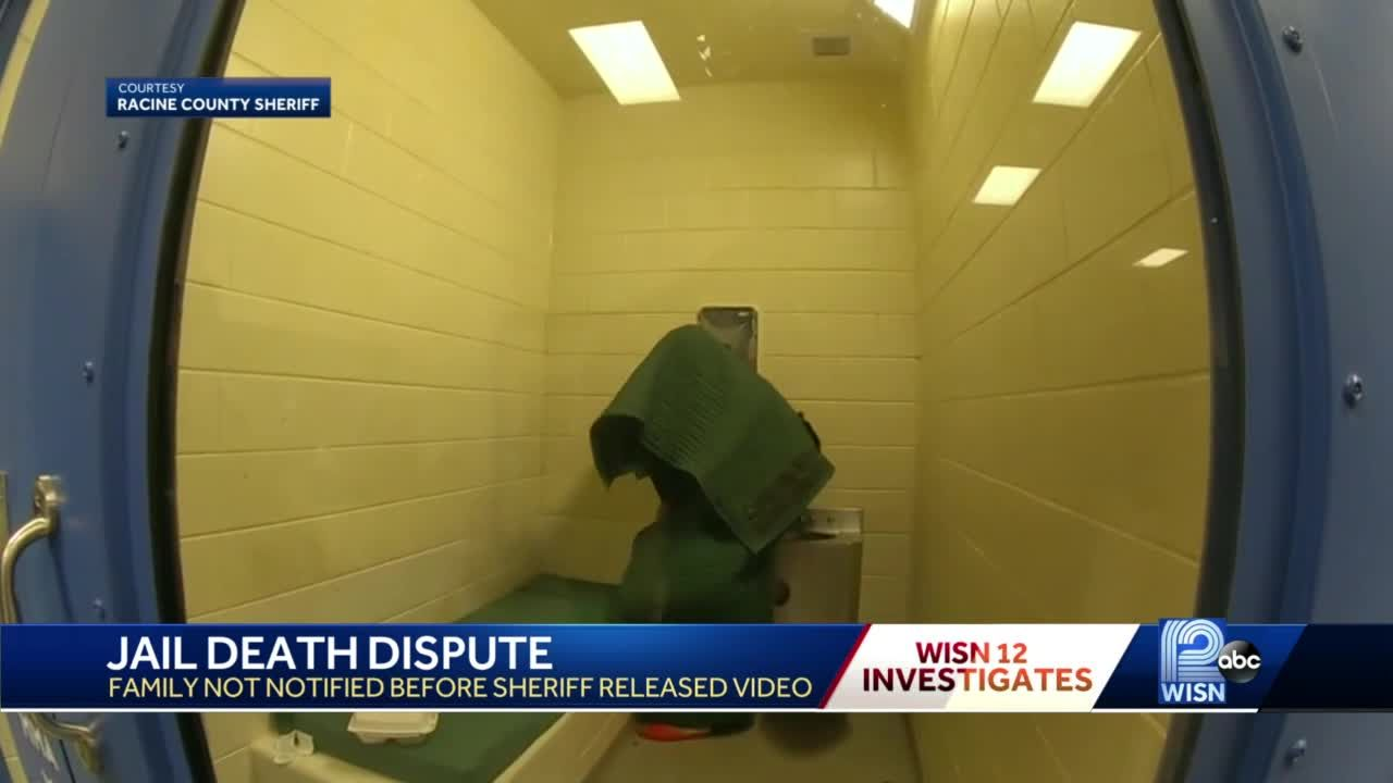Family of man who died in Racine County Jail blindsided by sheriff's video release