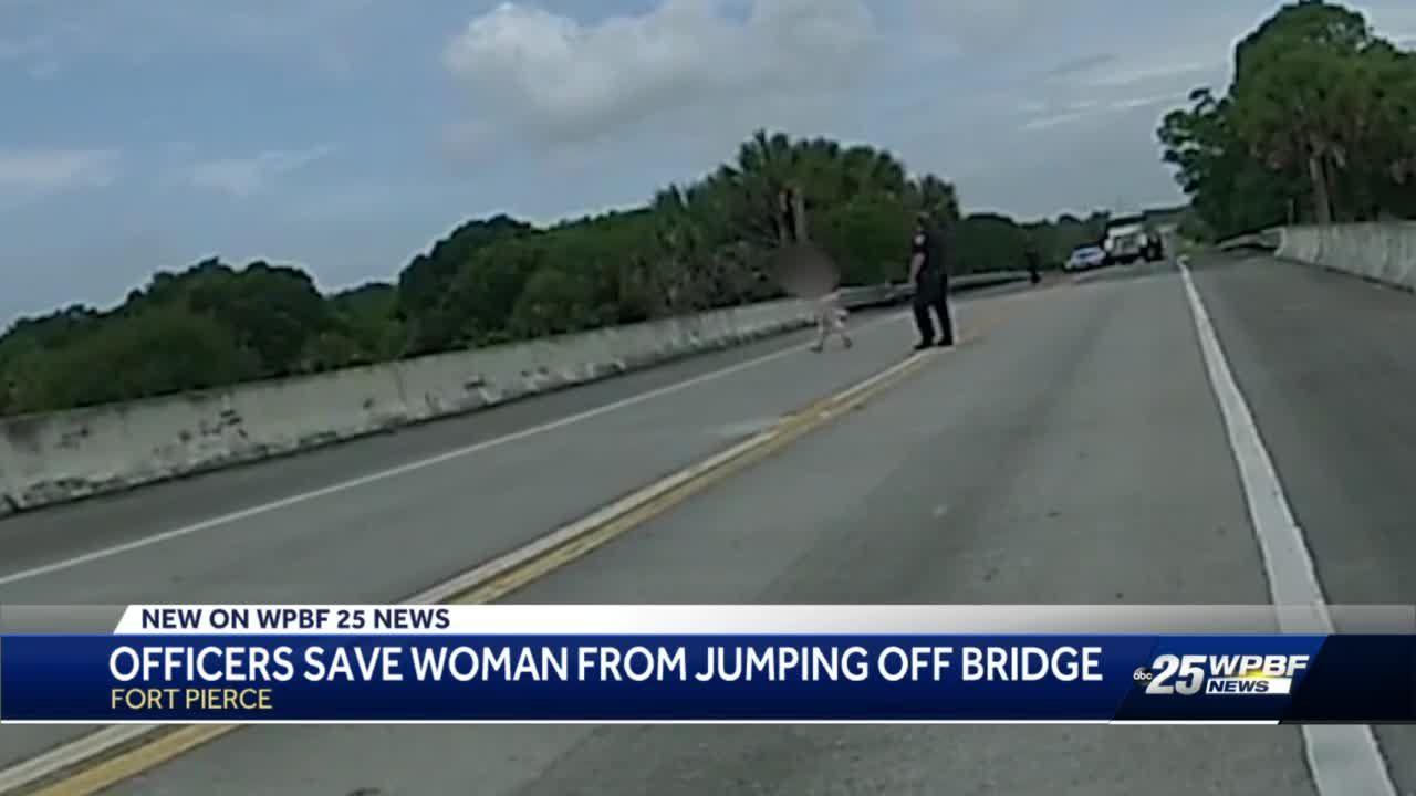Fort Pierce Police Save Life