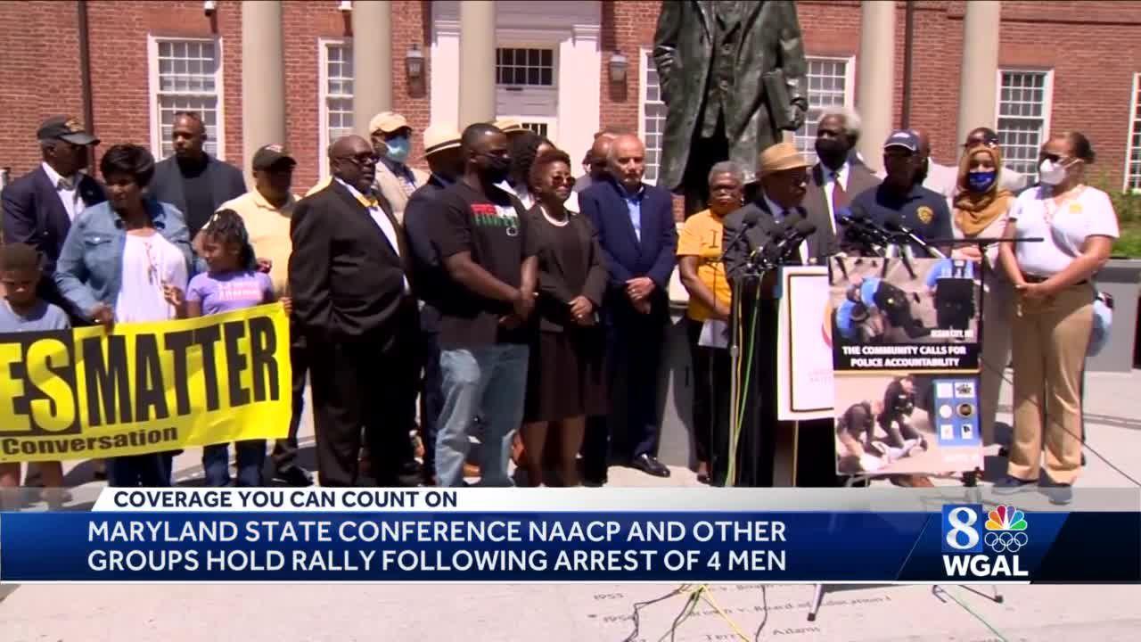 Rally held to condemn actions of Ocean City police in arrests of Harrisburg men