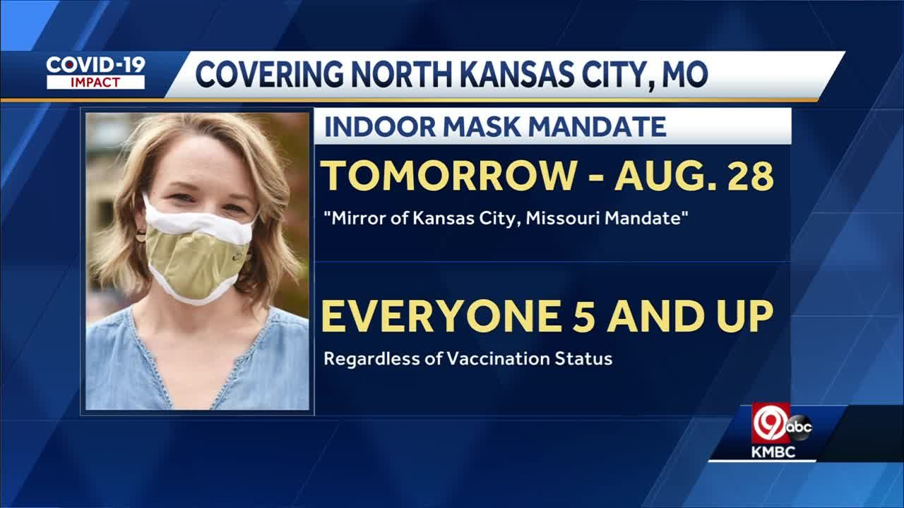 North Kansas City announces new mask mandate