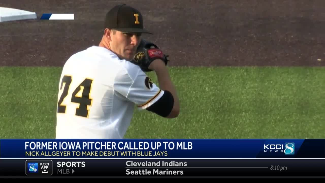 Former Hawkeye makes it to to MLB