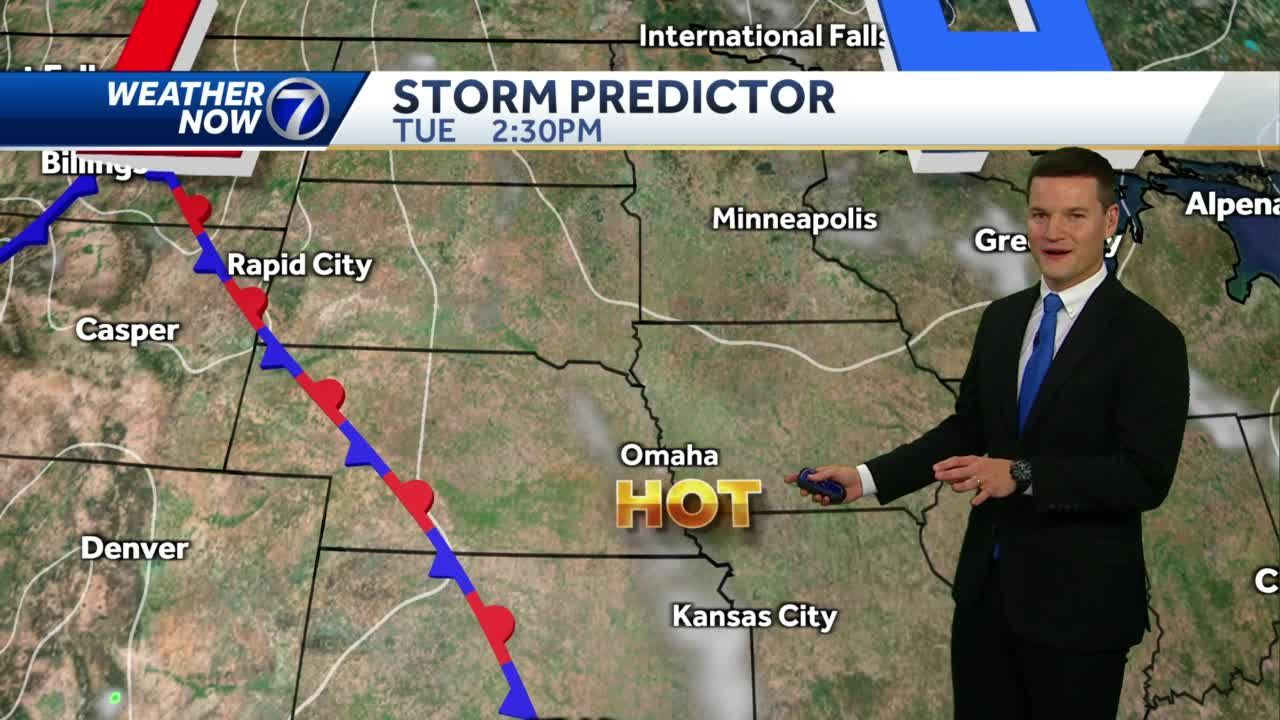 More hot, sunny weather Tuesday