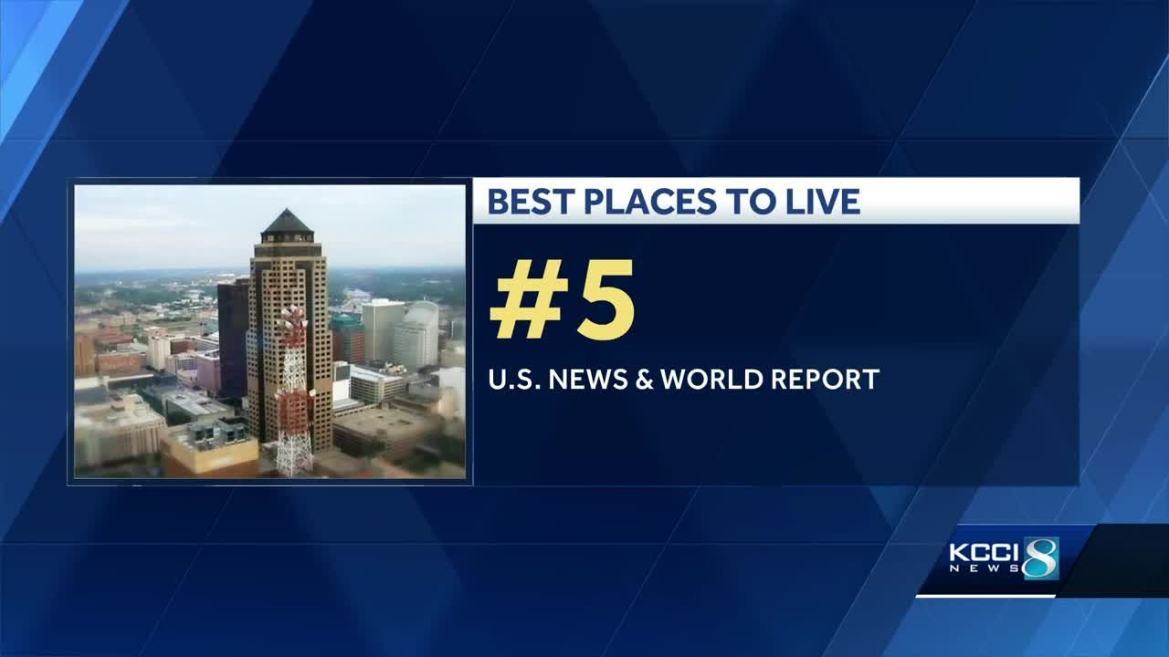 Des Moines ranked #5 Best place to live
