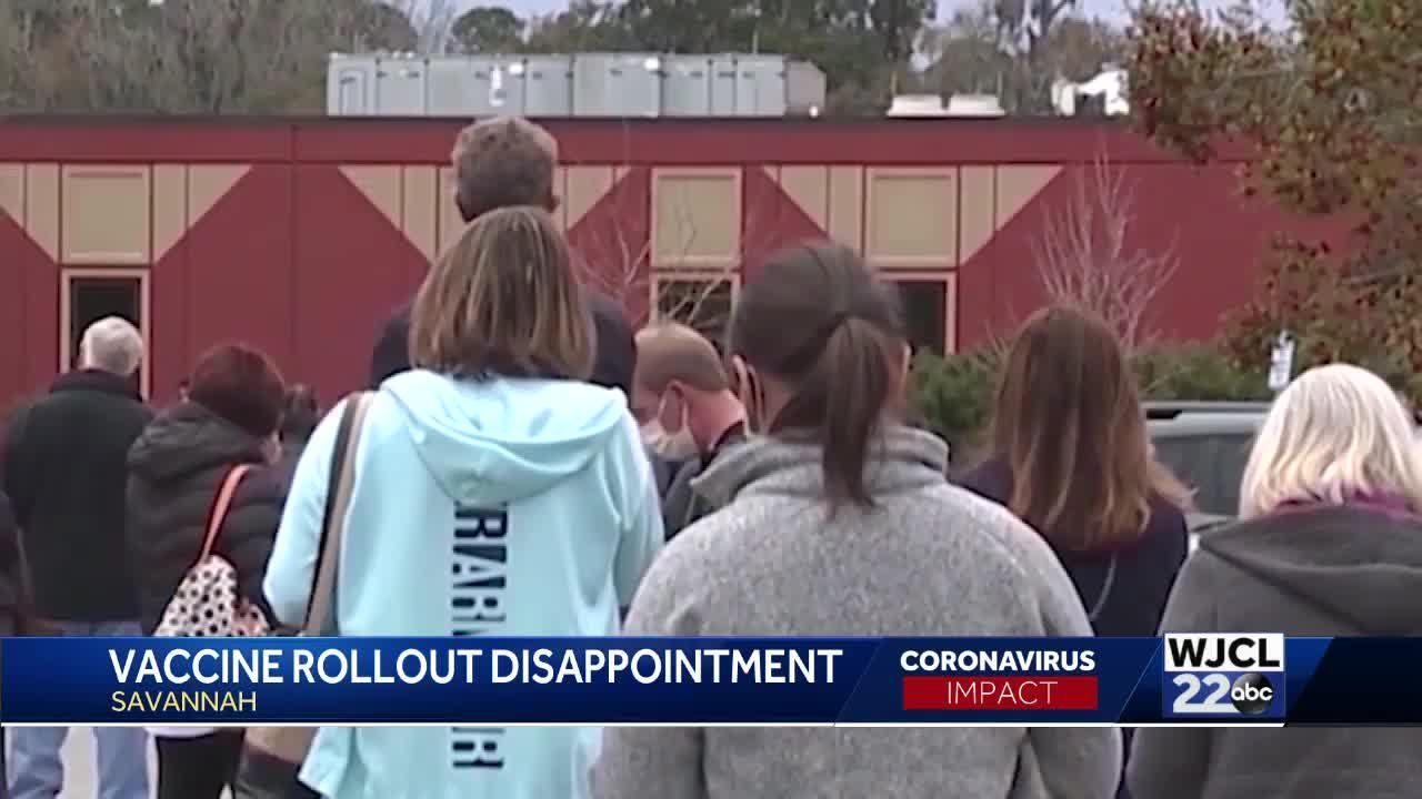 Vaccine Rollout Disappointment PKG