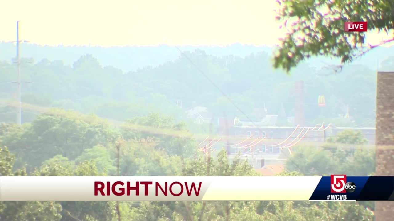 Air quality alert prompts health concerns
