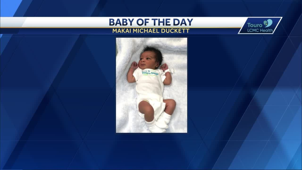 WDSU Baby of the Day for May 13, 2021