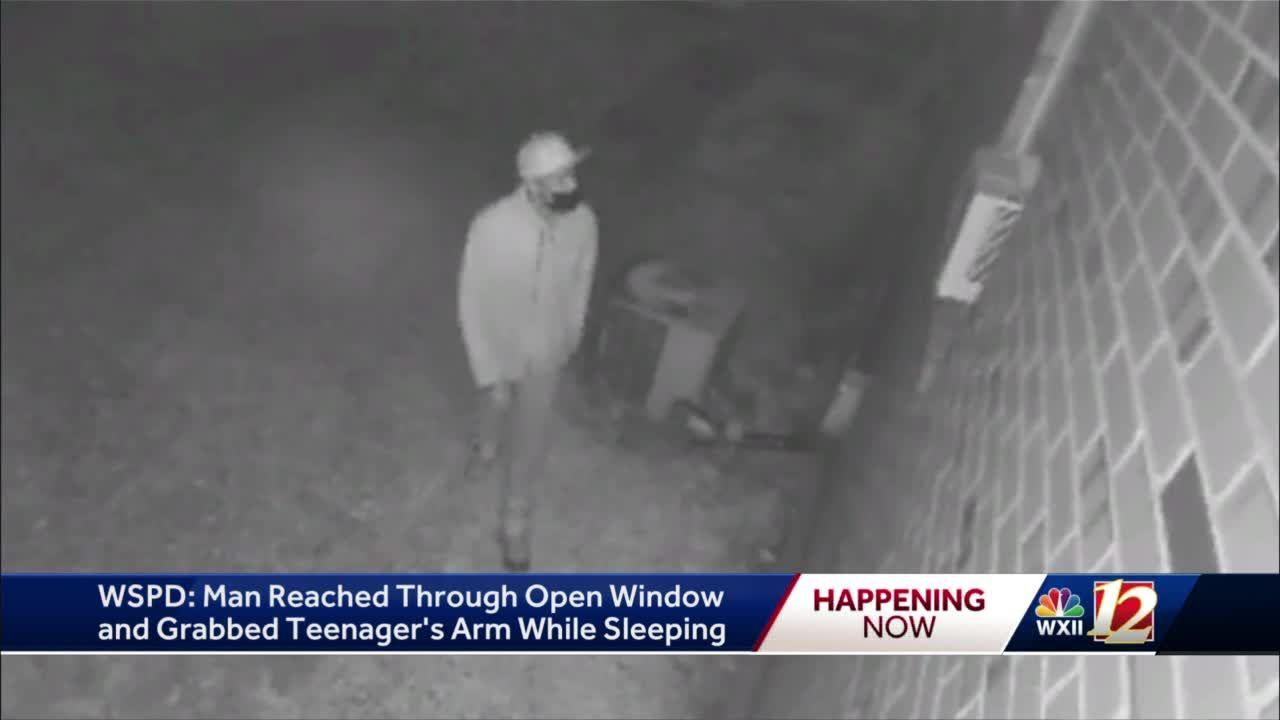 Man reaches through window, grabs sleeping 14-year-old in Winston-Salem