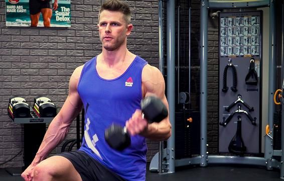 Blow Up Your Biceps With This Killer Finisher