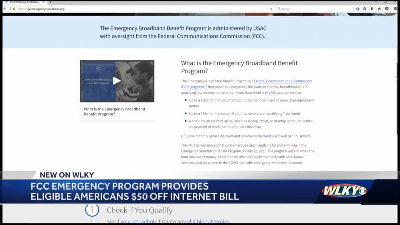 Eligible Kentucky families can now sign up for new temporary internet discount program
