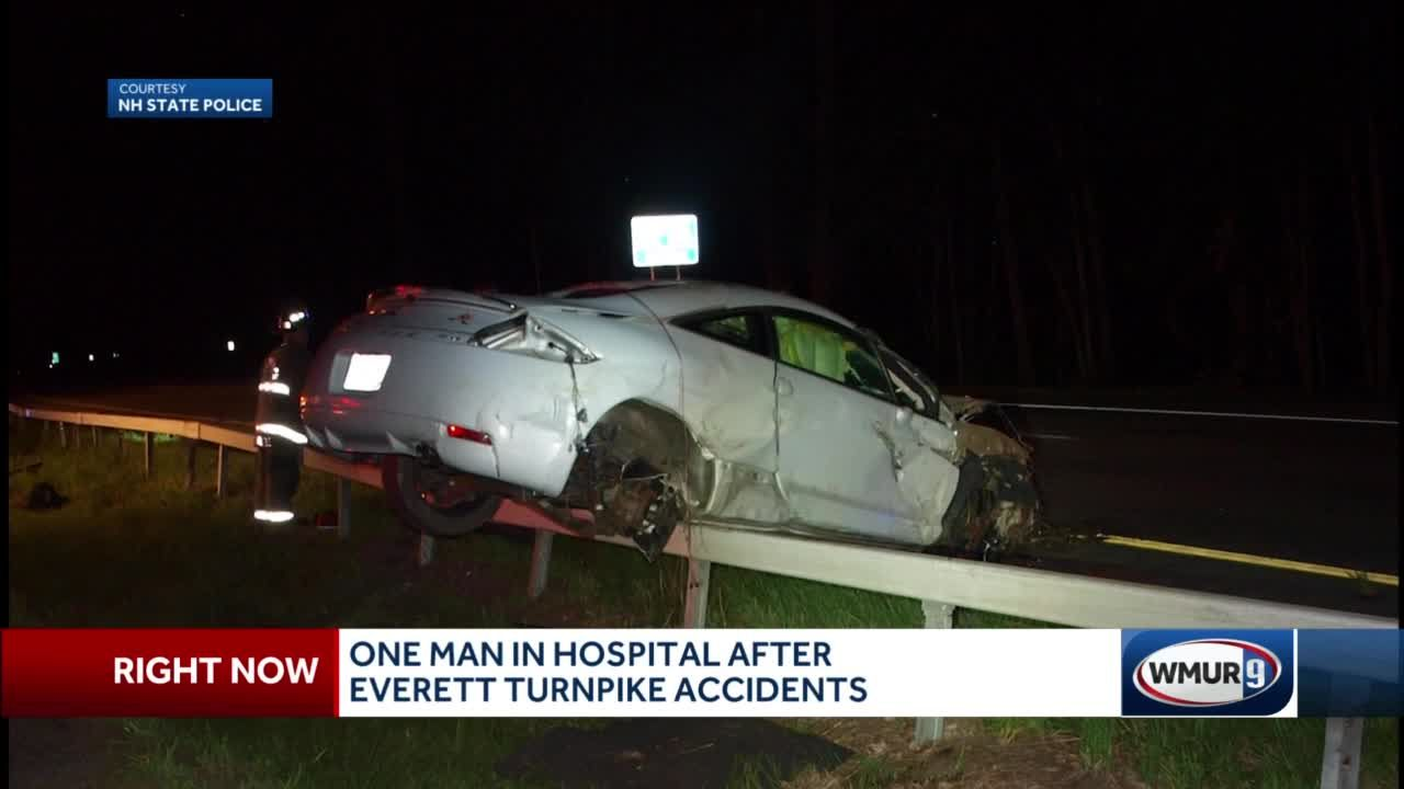 Speed believed to be factor in crash that sent man to hospital