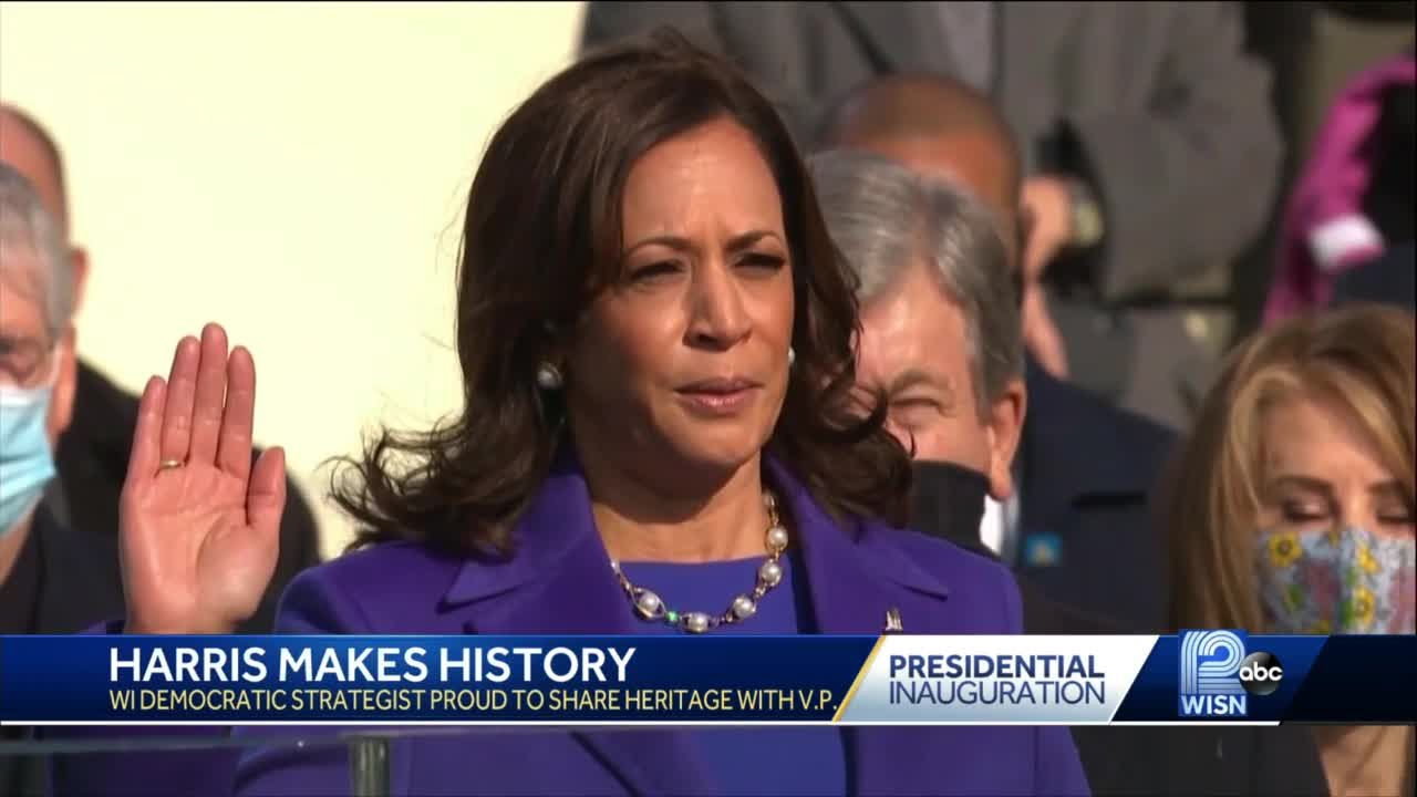 Kamala Harris' historic new role inspires hope in Wisconsin residents