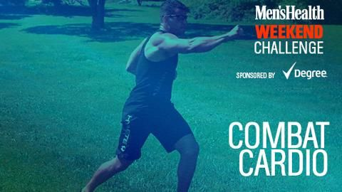 Crush Fat and Knock Out Stress with This 'Combat Cardio' Workout